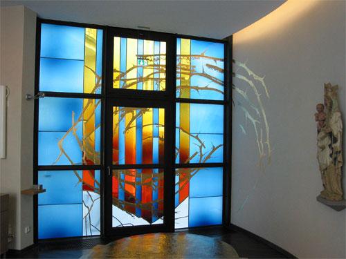Hempel glas und metallkunst for Fenster joseph